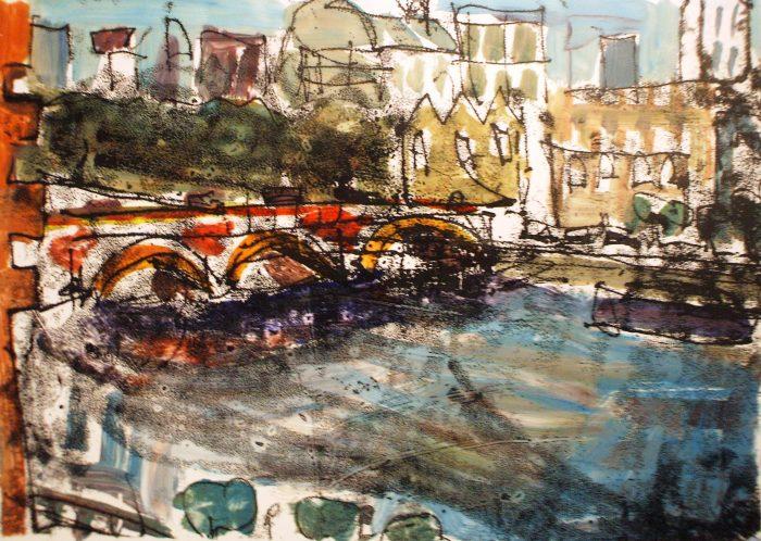 The Embankment | Monprint | 297 x 210mm | £280