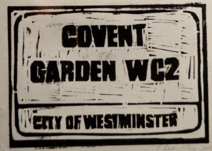 Covent Garden | Linoprint | 200 x 145mm | £200.00