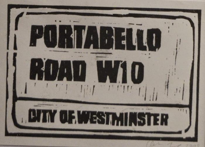 Portabello Road | Linoprint | 200 x 145mm | £200.00