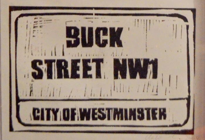 Buck Street | Linoprint | 200 x 145mm | £200.00