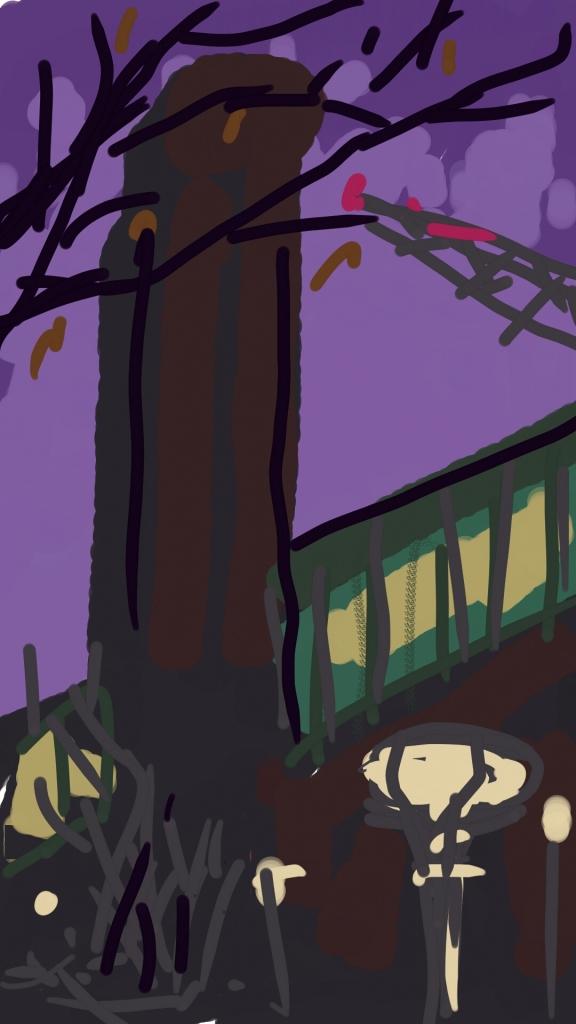 Tate Modern at Night | Digital Art | 210 x 297mm  £150