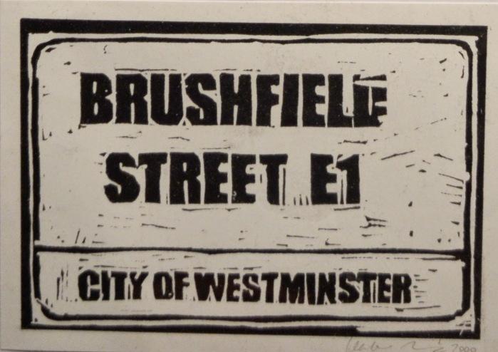 Brushfield Street | Monoprint | 200 x 145mm | £200.00