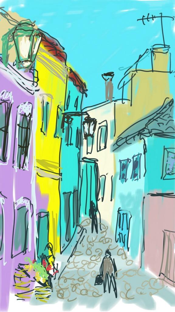 Monchique, Portugal | Digital Art | 210 x 297mm | £150