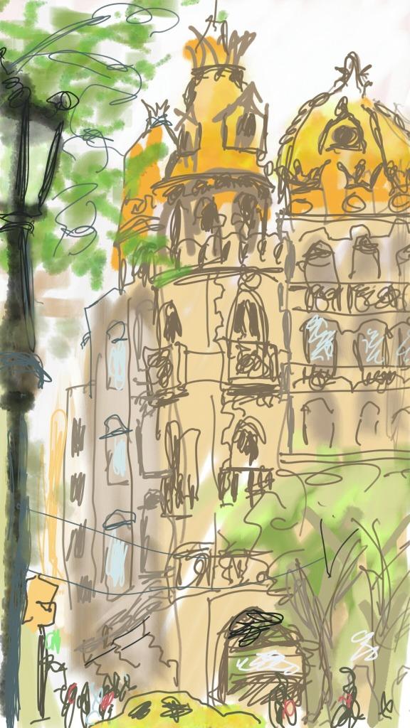 Passeig de Gràcia, Barcelona | Digital | 210 x 297mm | £150