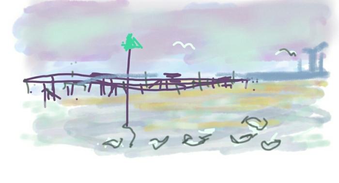 Southend-on-Sea   Digital Art   297 x 210mm   £150