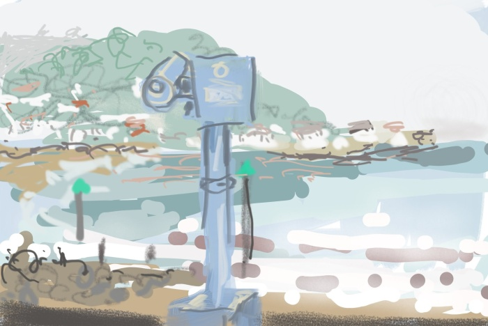 Hazy Minehead | Digital Art | 297 x 210mm | £150