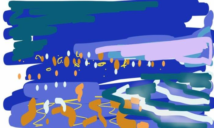 Polzeath at Dusk | Digital Art | 297 x 210mm | £150