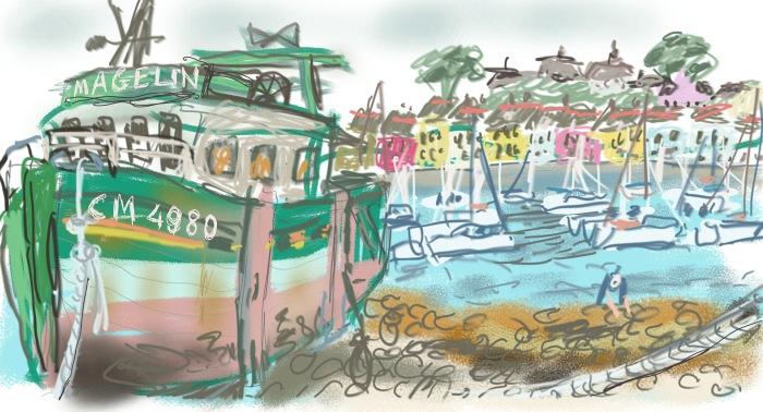 Camaret sur Mer, Brittany | Digital Art | 297 x 210mm | £150