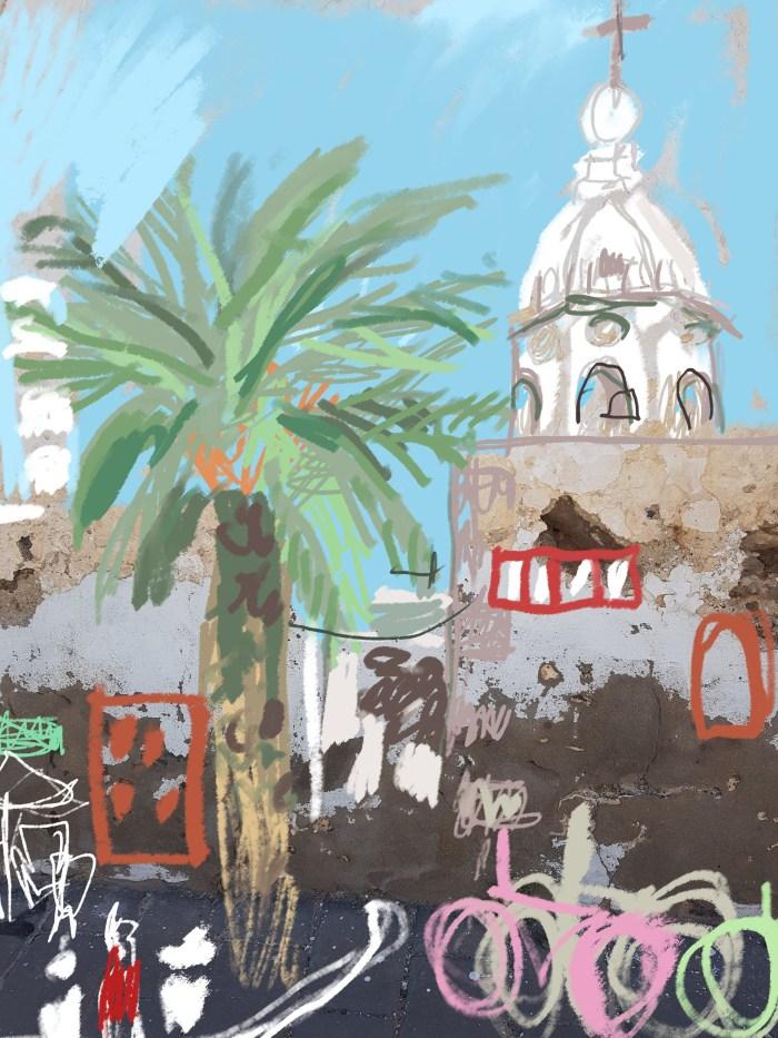 Teguise, Lanzarote   Digital Art   210 x 297mm   £150