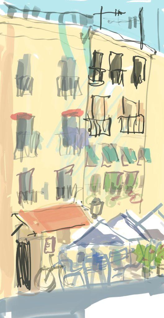 Barcelona Gothic Quarter | Digital Art | 210 x 297mm | £150