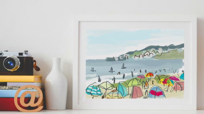 Dorset Art by Katie Moritz